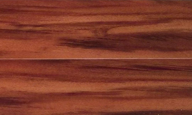 Load image into Gallery viewer, 12mm Random Length Pad Attached Red Chestnut Laminate Wood Flooring