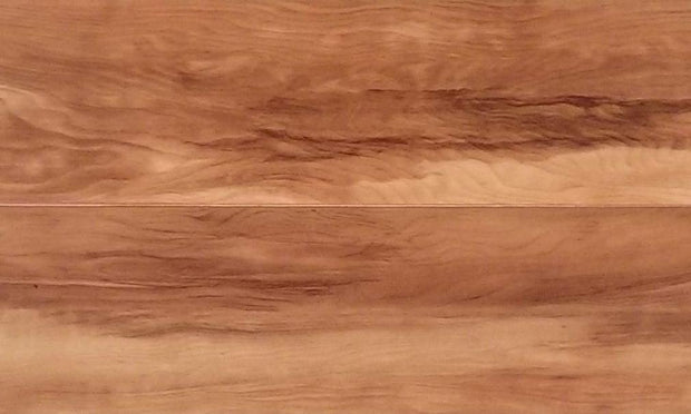 Load image into Gallery viewer, 12mm Random Length Pad Attached Golden Honey Laminate Wood Flooring