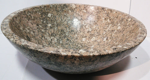 Desert Brown Granite Vessel Sink