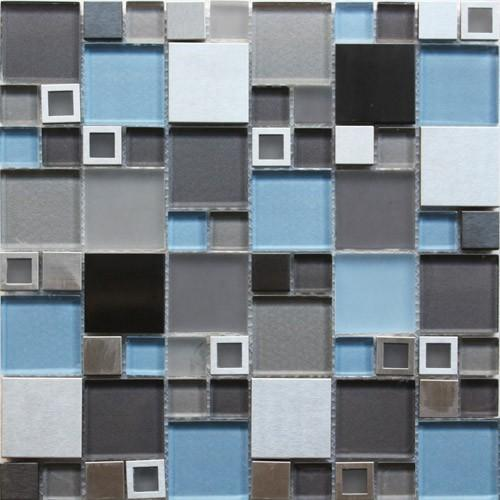 Stainless GDS-004D 12x12 Mosaic Tile
