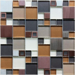 Stainless GDS-006D 12x12 Mosaic Tile