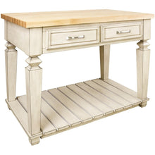 Load image into Gallery viewer, Jeffrey Alexander Kitchen Island - HRISL09-FWH