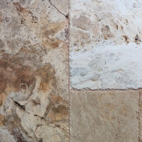 French Pattern Travertine Leonardo