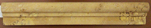 Gold Travertine Chair Rail - MO1089