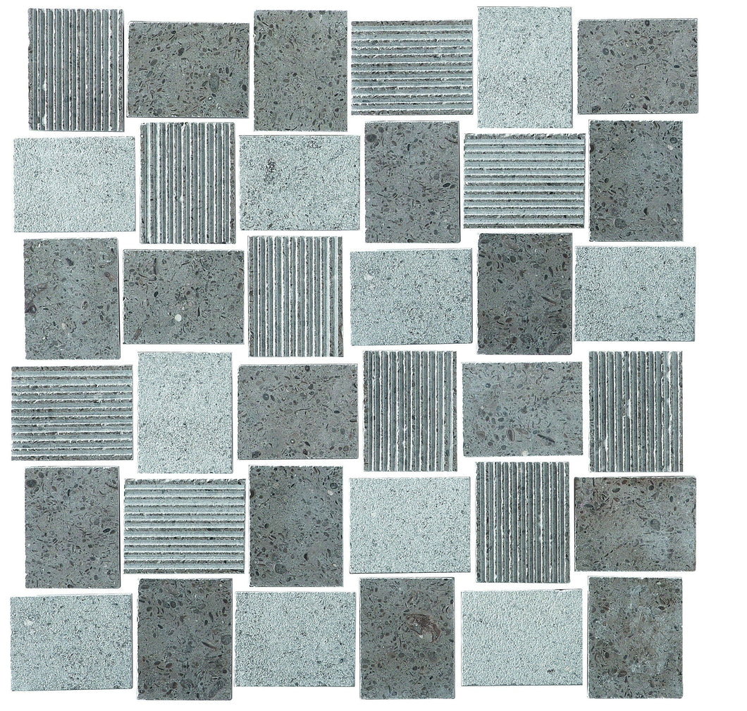 WaterJet RC1637P 10x11 Mosaic Tile
