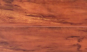 12mm Handscraped Cinnamon Laminate Wood Flooring