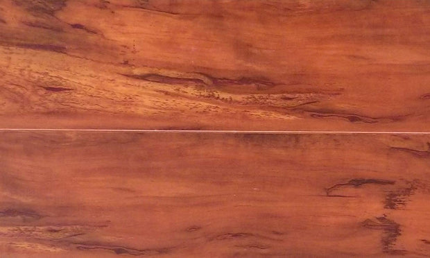 Load image into Gallery viewer, 12mm Handscraped Cinnamon Laminate Wood Flooring