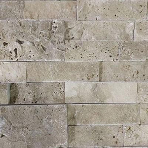 "Split Face Noce  Travertine ""6x24"""