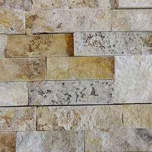 "Split Face Scabos  Travertine ""6x24"""