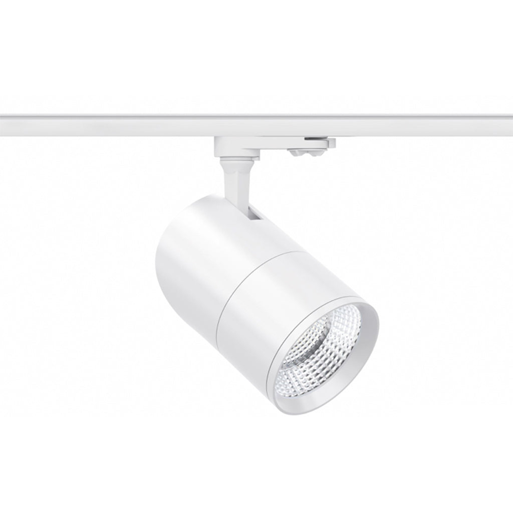 Beneito Faure ASTON LED 3-Phasenstrahler 20W 15º/38º/60º weiss