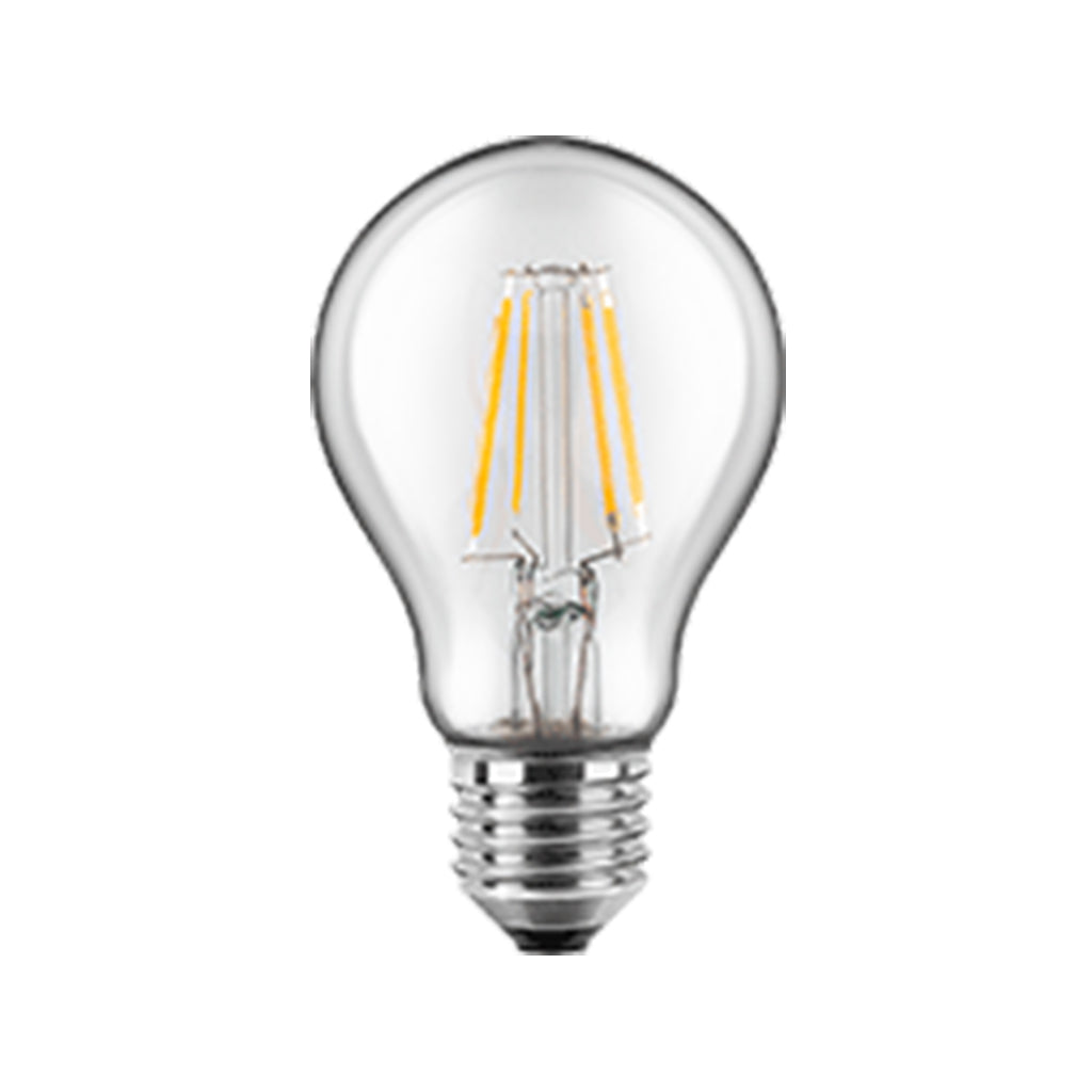 LED Filament Lampe Birnenform 7 Watt WW, Glas (klar), dimmbar