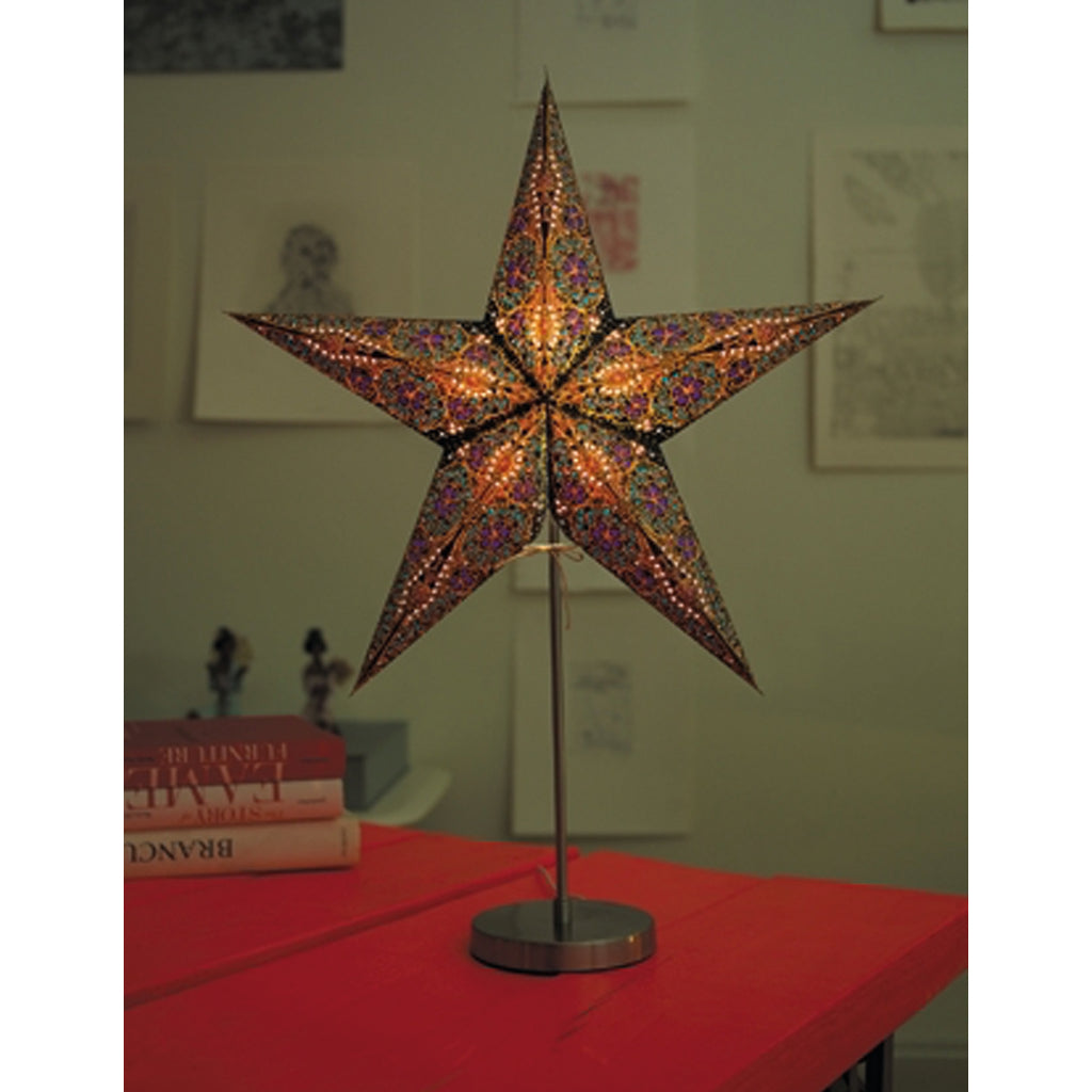 earth friendly starlightz Weihnachtsstern Table Stand - M