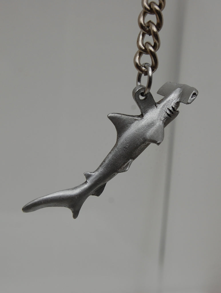 Hammer Head Shark Keychain