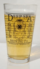 Deep Sea Brewing Company Pint Glass