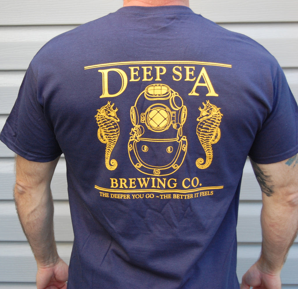 Deep Sea Brewing Company Shirt - Short Sleeve