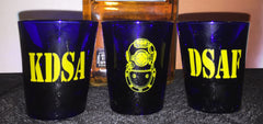 DSAF KDSA Shot Glass