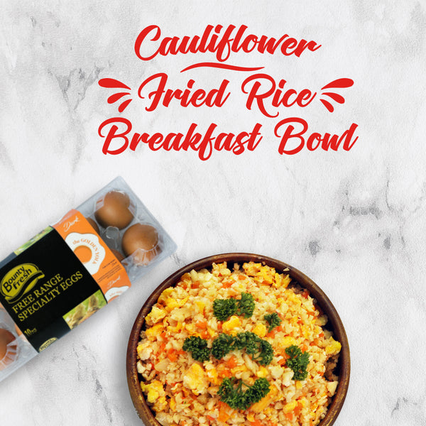 Cauliflower Fried Rice Breakfast Bowl