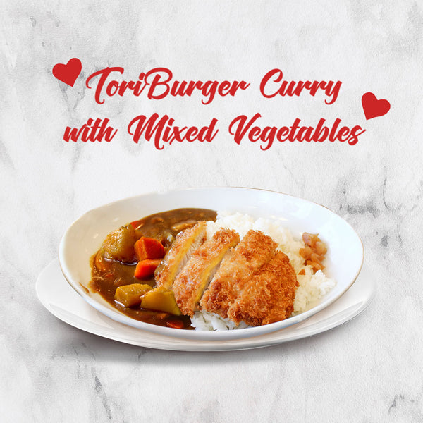 ToriBurger Curry with mixed Vegetables