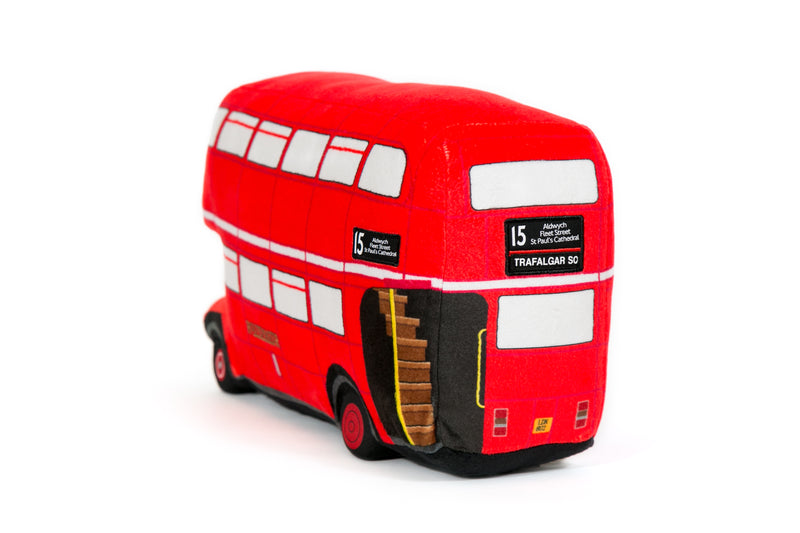 London Vintage Routemaster Bus Soft Toy