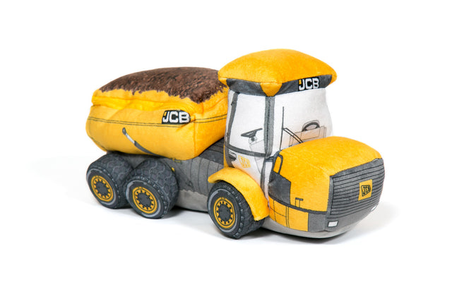 JCB Dumper Truck Soft Toy
