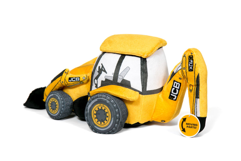 JCB 3CX Backhoe Soft Toy