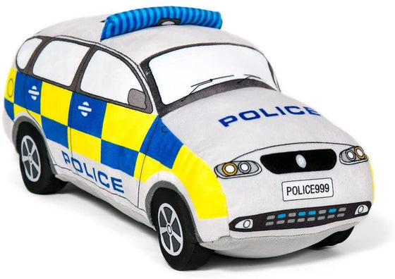 Police Car Soft Toy
