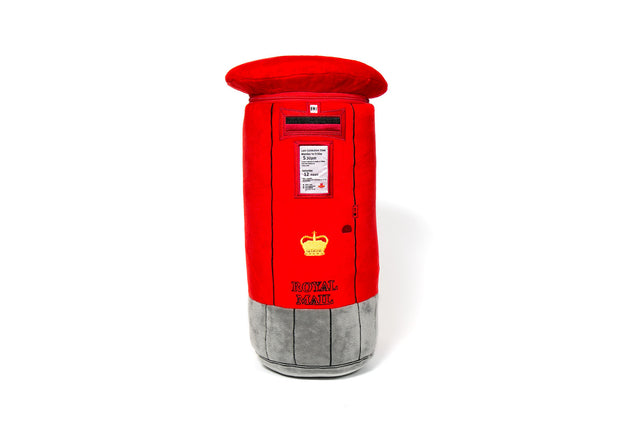 British Post Box Soft Toy