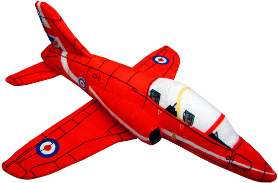 RAF Red Arrows Jet Soft Toy