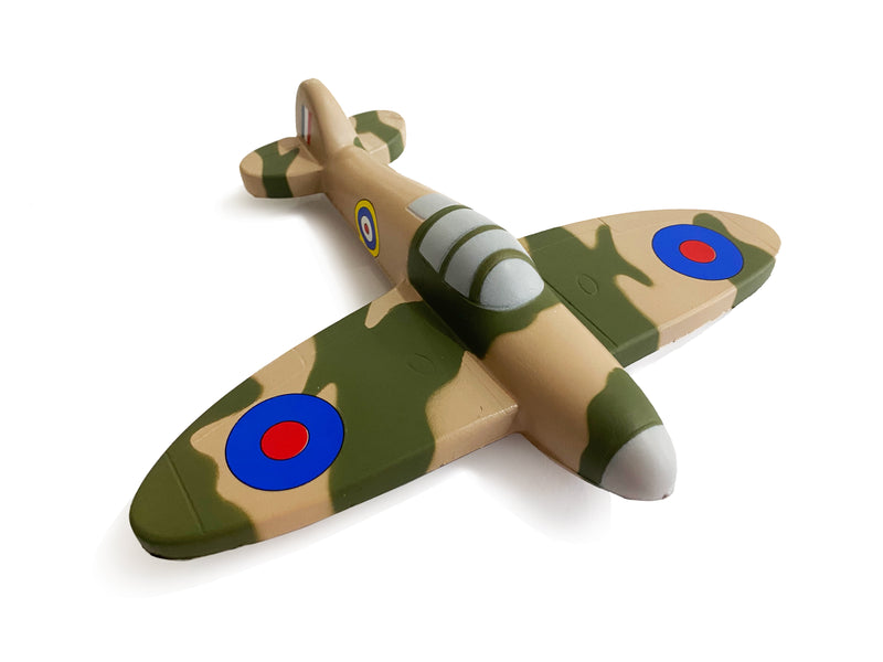 Spitfire Plane Squeezable Stress Toy