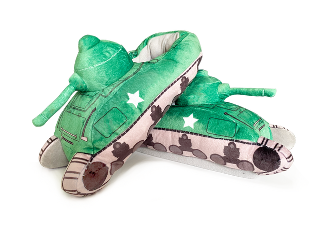Sherman Tank Slippers