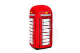 Red Telephone Box Soft Toy