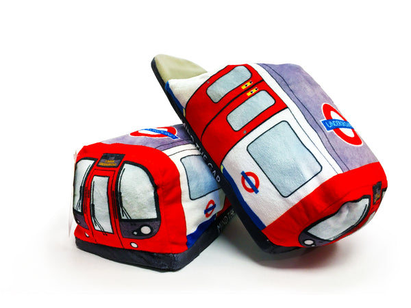 London Underground Train Slippers