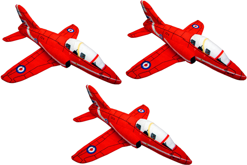 RAF Red Arrows Jet Soft Toy - Multipack