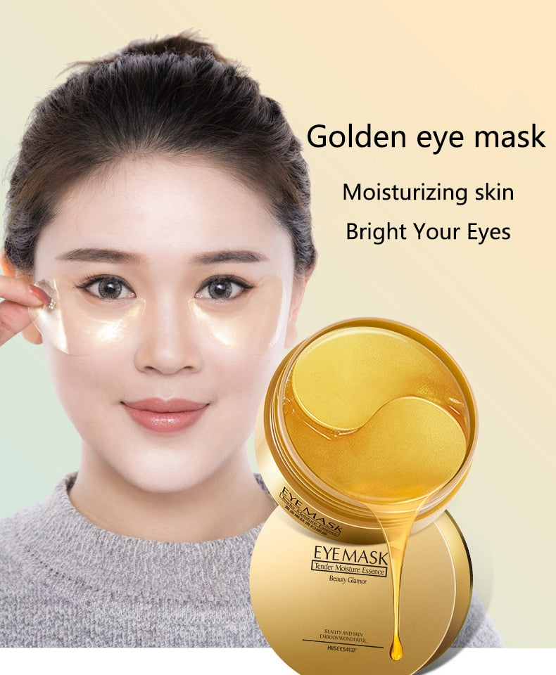 Golden Collagen Eye Mask (60 Pieces)