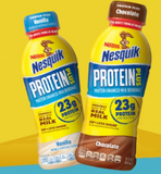 Nesquik Protein Plus 14oz bottles 12pk