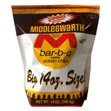 Middleswarth Potato Chip 6-Pack 14 Oz. Bags resealable