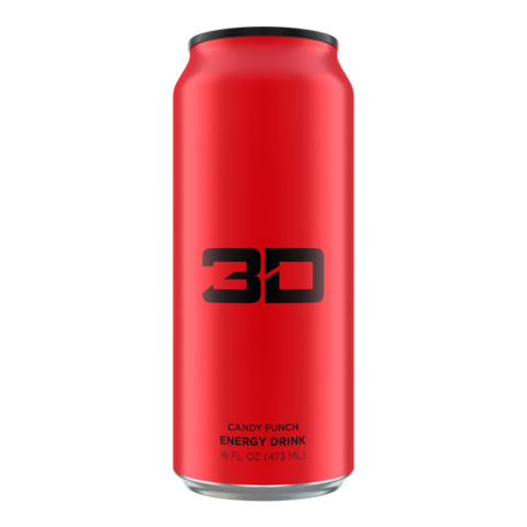 3D Energy 16oz cans 12 pack