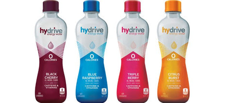 Hydrive Energy Water | Citrus Burst | Sugar Free | Zero Calories |   16 oz (Pack of 12)