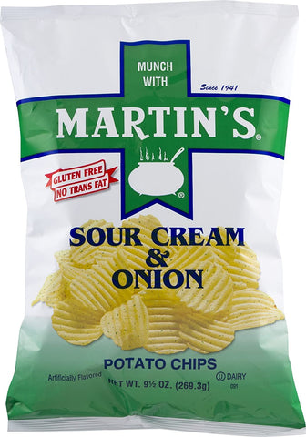 Martin's B-B-Q Waffle, Sour Cream & Onion & Dippin' Potato Chip Value Size Variety 3-Pack