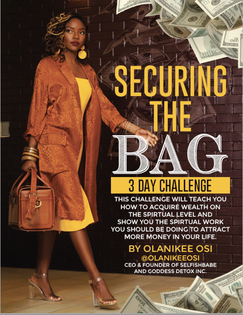 Securing The Bag 3 Day Challenge