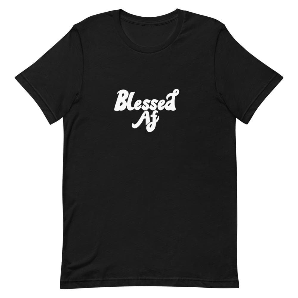 Blessed Af  Alignment Shirt