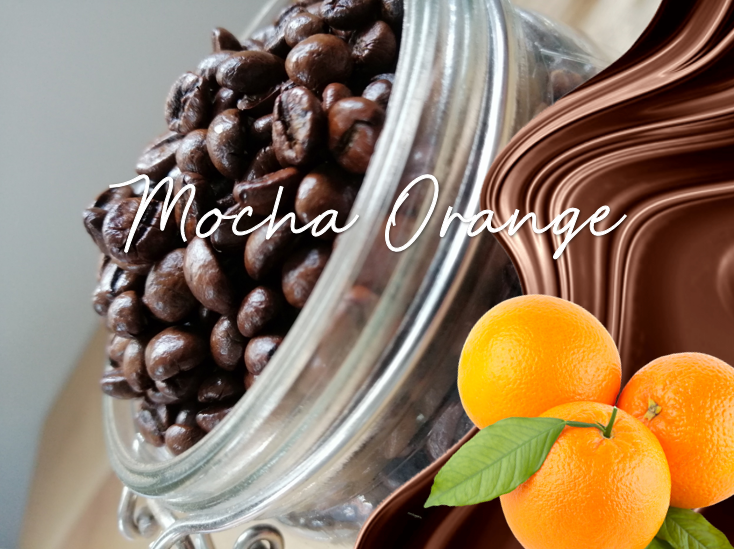 Mocha Orange Flavoured Coffee