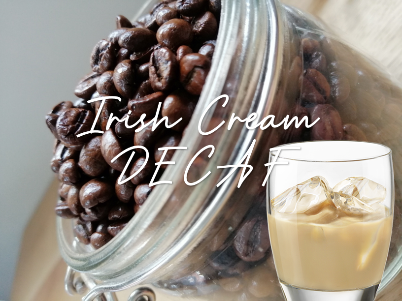 DECAFFEINATED Irish Cream Flavoured Coffee