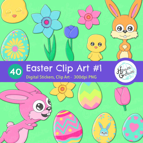 Easter Clip Art Set #1