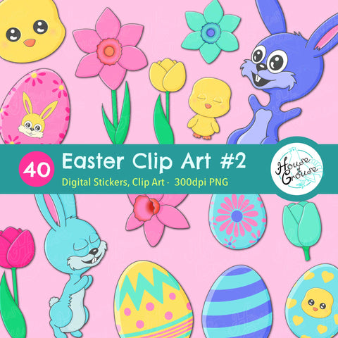 Easter Clip Art Set #2