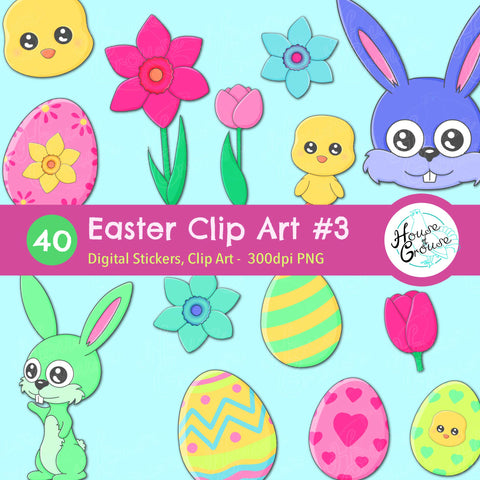 Easter Clip Art Set #3