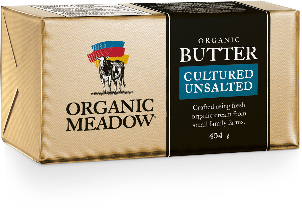 Organic Butter - Cultured Unsalted 454g