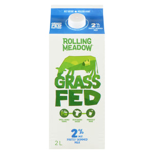 Grass Fed 2% Milk - 2L