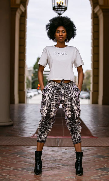 CROPPED T-SHIRT / KAMALA HERSTORY | Megan Renee