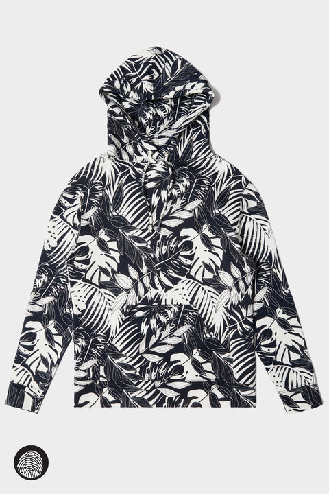 KOA HOODIE / BLACK & CREAM | Jungle Gurl